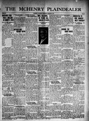 McHenry Plaindealer (McHenry, IL), 27 Mar 1941
