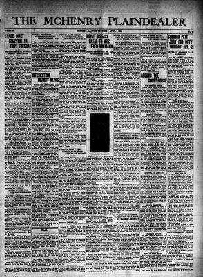 McHenry Plaindealer (McHenry, IL), 3 Apr 1941