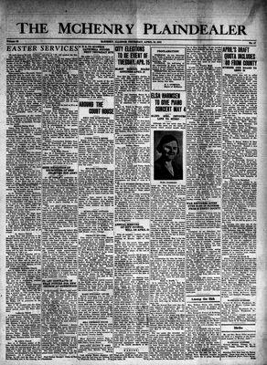 McHenry Plaindealer (McHenry, IL), 10 Apr 1941