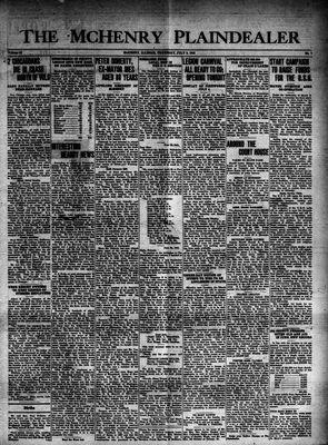 McHenry Plaindealer (McHenry, IL), 3 Jul 1941