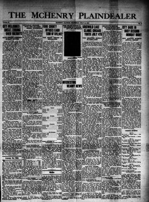 McHenry Plaindealer (McHenry, IL), 10 Jul 1941