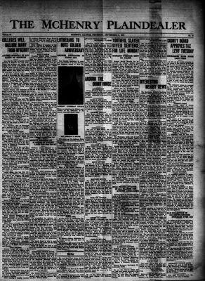 McHenry Plaindealer (McHenry, IL), 11 Sep 1941