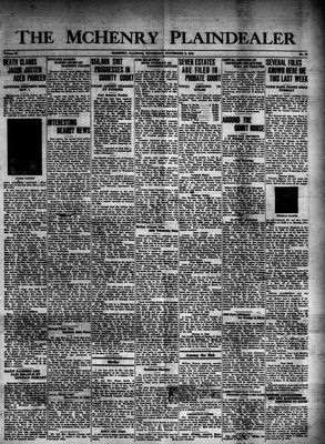 McHenry Plaindealer (McHenry, IL), 6 Nov 1941