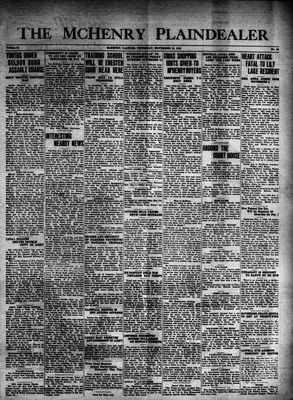 McHenry Plaindealer (McHenry, IL), 13 Nov 1941