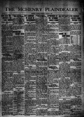 McHenry Plaindealer (McHenry, IL), 8 Jan 1942
