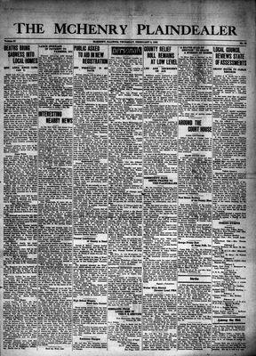 McHenry Plaindealer (McHenry, IL), 5 Feb 1942