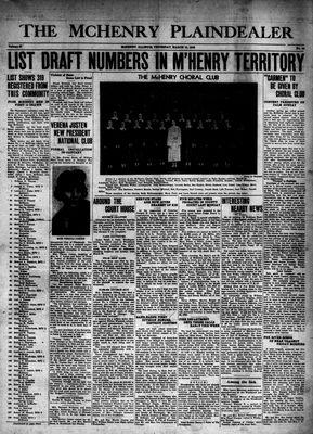 McHenry Plaindealer (McHenry, IL), 19 Mar 1942