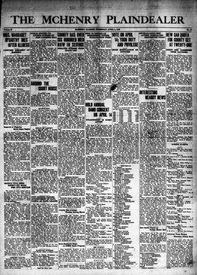 McHenry Plaindealer (McHenry, IL), 9 Apr 1942