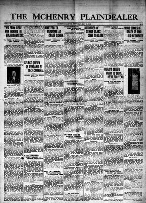 McHenry Plaindealer (McHenry, IL), 28 May 1942