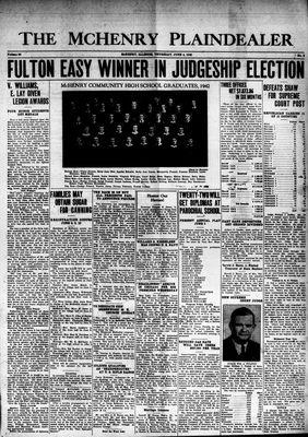 McHenry Plaindealer (McHenry, IL), 4 Jun 1942