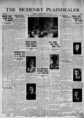 McHenry Plaindealer (McHenry, IL), 9 Jul 1942