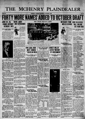 McHenry Plaindealer (McHenry, IL), 1 Oct 1942