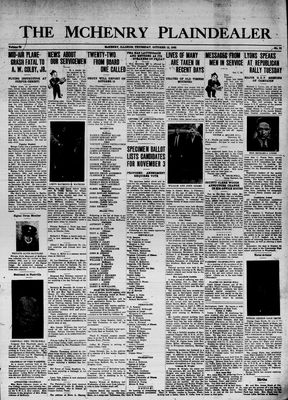 McHenry Plaindealer (McHenry, IL), 15 Oct 1942