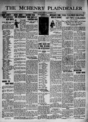 McHenry Plaindealer (McHenry, IL), 19 Nov 1942