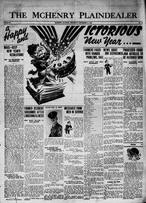 McHenry Plaindealer (McHenry, IL), 31 Dec 1942