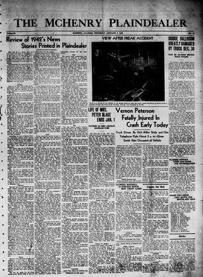 McHenry Plaindealer (McHenry, IL), 7 Jan 1943