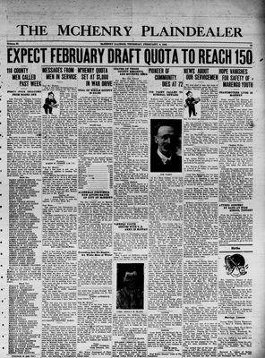 McHenry Plaindealer (McHenry, IL), 4 Feb 1943
