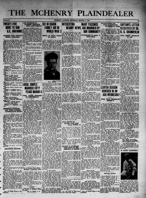 McHenry Plaindealer (McHenry, IL), 11 Mar 1943