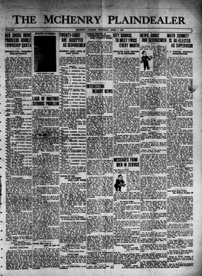 McHenry Plaindealer (McHenry, IL), 8 Apr 1943