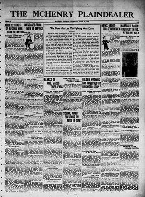 McHenry Plaindealer (McHenry, IL), 15 Apr 1943