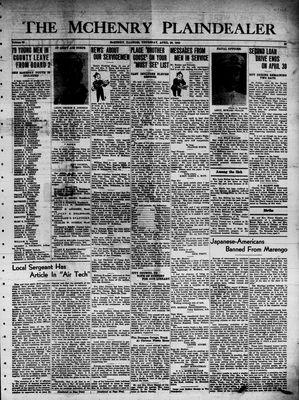 McHenry Plaindealer (McHenry, IL), 29 Apr 1943