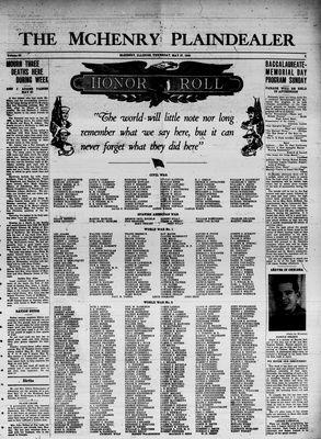 McHenry Plaindealer (McHenry, IL), 27 May 1943