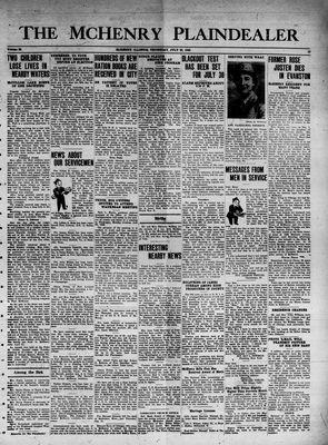McHenry Plaindealer (McHenry, IL), 22 Jul 1943