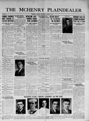 McHenry Plaindealer (McHenry, IL), 5 Aug 1943