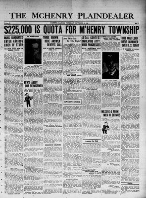 McHenry Plaindealer (McHenry, IL), 9 Sep 1943