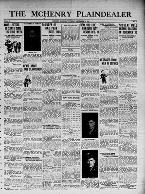 McHenry Plaindealer (McHenry, IL), 16 Dec 1943