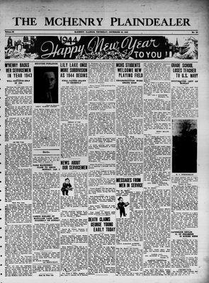 McHenry Plaindealer (McHenry, IL), 30 Dec 1943