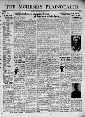 McHenry Plaindealer (McHenry, IL), 6 Jan 1944