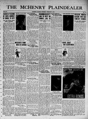 McHenry Plaindealer (McHenry, IL), 3 Feb 1944