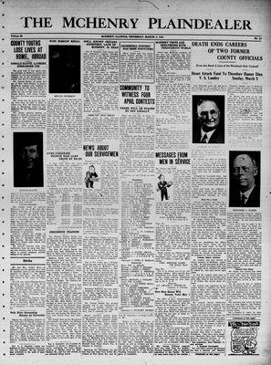 McHenry Plaindealer (McHenry, IL), 9 Mar 1944