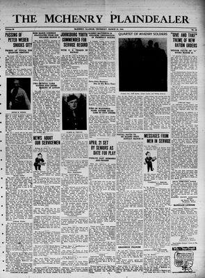McHenry Plaindealer (McHenry, IL), 23 Mar 1944