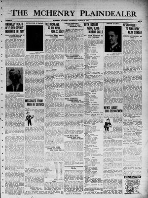McHenry Plaindealer (McHenry, IL), 30 Mar 1944