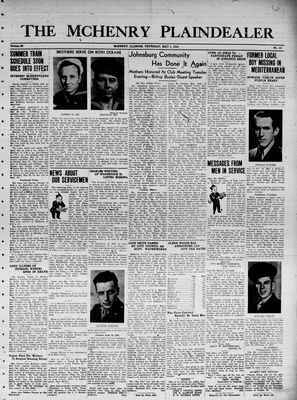 McHenry Plaindealer (McHenry, IL), 4 May 1944