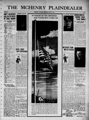 McHenry Plaindealer (McHenry, IL), 25 May 1944