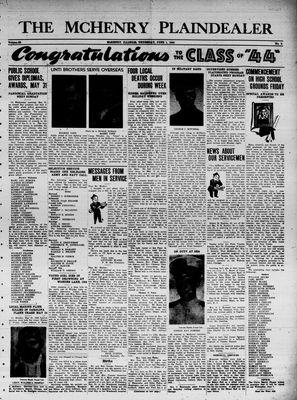 McHenry Plaindealer (McHenry, IL), 1 Jun 1944