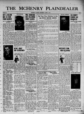 McHenry Plaindealer (McHenry, IL), 15 Jun 1944