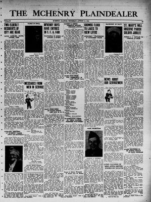 McHenry Plaindealer (McHenry, IL), 10 Aug 1944