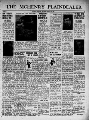 McHenry Plaindealer (McHenry, IL), 31 Aug 1944