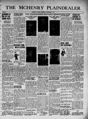 McHenry Plaindealer (McHenry, IL), 7 Sep 1944