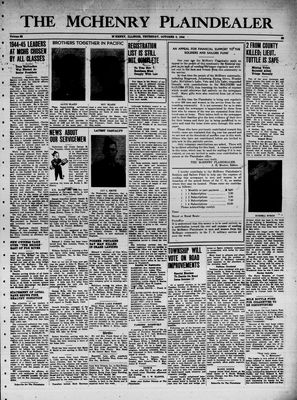 McHenry Plaindealer (McHenry, IL), 5 Oct 1944