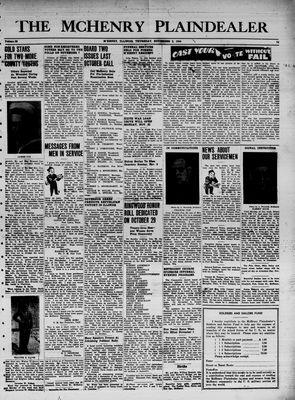 McHenry Plaindealer (McHenry, IL), 2 Nov 1944