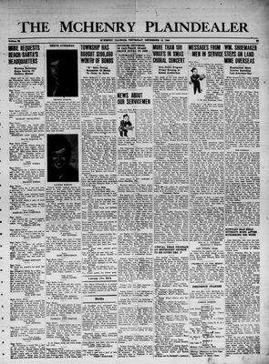 McHenry Plaindealer (McHenry, IL), 14 Dec 1944