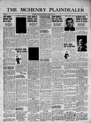 McHenry Plaindealer (McHenry, IL), 25 Jan 1945