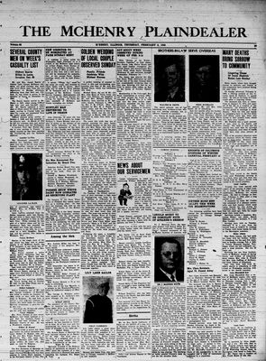 McHenry Plaindealer (McHenry, IL), 8 Feb 1945
