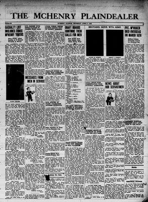 McHenry Plaindealer (McHenry, IL), 5 Apr 1945