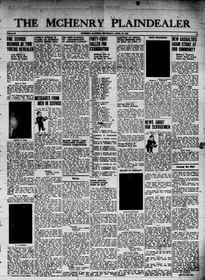 McHenry Plaindealer (McHenry, IL), 12 Apr 1945